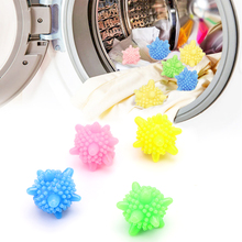 4Pcs Decontamination Laundry Ball Anti-Winding Washing Ball Dryer Balls Keeping Laundry Fresh Drying Fabric Softener(China)