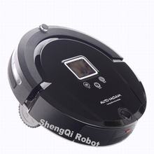 Pakwang A320 (Sweep,Vacuum,Mop,Sterilize) 2017 Most Advanced Robot Vacuum Cleaner For Home With Remote control, LCD touch screen(China)