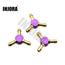 Buy 1PCS RC Boat 3-Way Water cooling Nozzles 4mm Water cooling faucet Water Nipples Fuel Nozzles Methanol Gasoline Boat for $4.85 in AliExpress store