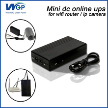 best one mini ups system 12v small size portable online router ups for ip camera(China)