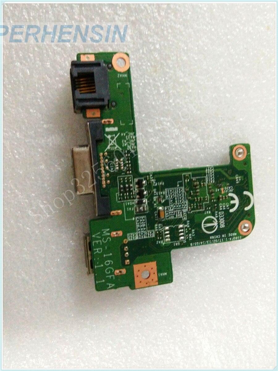 Original Genuine laptop FOR MSI FOR GE60 MS-16GF1 MS-16GF VGA USB WLAN BOARD MS-16GFA<br>