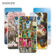 Zoocen Phone Case For HTC One X10 Cover Soft Slim Protection Cases Cover For HTC E66 DIY Print Silicone TPU Back Accessories Bag