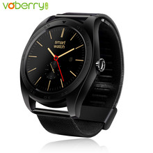 Buy VOBERRY K89 Smart Watch IPS Round Screen Smartwatch Fitness Tracker Heart Rate Monitor Bluetooth Watches IOS Android for $44.41 in AliExpress store