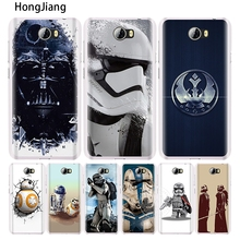 HongJiang star wars R2D2 darth vader Stormtrooper cell phone Cover Case for Huawei Honor 5A 6A 6C 6X 9 NOVA PLUS lite Y3 ii 2(China)