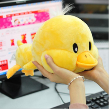 Small Yellow Duck Plush Toys 30cm Cute Duck Plush pet desktop dolls Kawaii Plush Toys For Children(China)