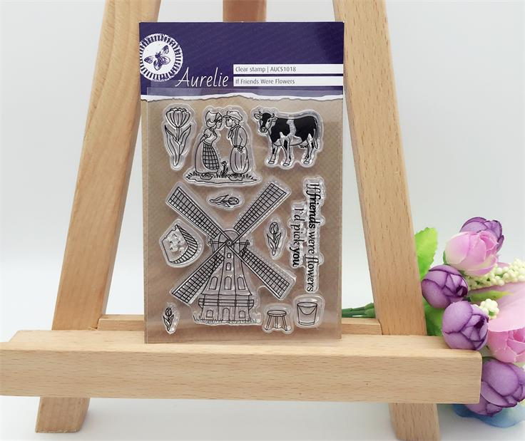 Romantic Pastoral Love Transparent Clear Stamp DIY Silicone Seals Scrapbooking/Card Making/Photo Album Decoration Supplies<br><br>Aliexpress