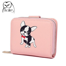 UKQLING Cute Mini Wallet Women Short Pattern Female Purse CWomens Wallets And Purses Clutch Coin Credit Card Holder