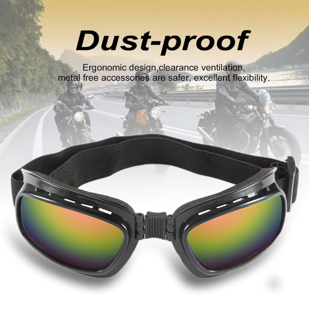 Eyewear Glasses Motocross-Goggles Dirt-Bike Folding Adjustable Off-Road Windproof Elastic-Band title=