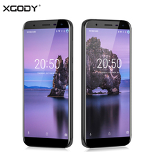 XGODY D24 18:9 Smartphone 5.5 Inch Full Screen MTK6737 Quad Core Android 7.0 1+16GB 8MP Telefone Celular 3G Unlocked Cell Phones(China)