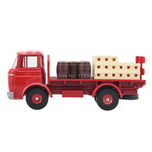 DINKY TOYS Atlas Alloy 1:43 588 RED TRUCK BERLIET CAMION BRASSEUR  REMOVABLE PREFERRED Alloy Diecast Car model & Toys Model