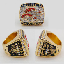 Classic High Quality Ring Jewelry For Man NFL Rugby Ring 1998 Super Bowl Denver Broncos Championship Rings