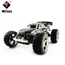 WL Toys 2019 2.4G 4WD 1/32 High Speed Off-Road Racing Mini Electric R/C Remote Control Car Monster Truck Elettronico Auto Truggy(China)