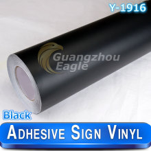 High Quality Matte  Black Adhesive Cutting vinyl/sign vinyl/plotter vinyl decals 1.06 x 33 m Free Shipping