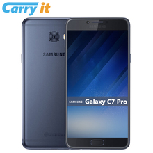 100% Original Samsung Galaxy C7 Pro 2017 C7010 5.7'' FHD Super AMOLED Snapdragon 3300mAh Global firmware OTA NFC 16MP Smartphone(China)