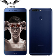 "Original Huawei Honor V9 4G LTE Mobile Phone 5.7"" 4/6GB RAM 64GB ROM Kirin960 Octa-Core 2560x1440P Dual 12MP Camera Smart Phone(China)"