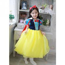 Children's Snow White Princess Dress Girls' Dresses Children's Clothing Cosplay Christmas New Costume  Blanca Nieve de princesa