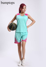 Customized Best Quality Women Newest Basketball Training Uniforms DIY Sportswears Kits Adult Jerseys Shorts Outdoors Suits