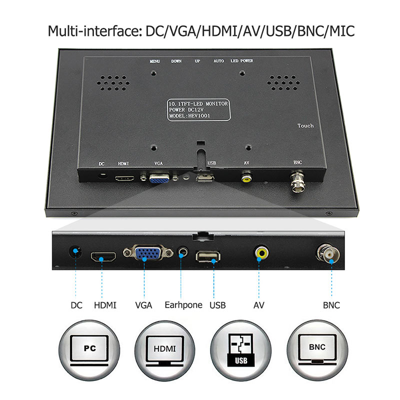 Raspberry Pi 3 Display 10.1 Inch (6)