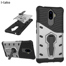 10pcs/lot For Lenovo K8 Note Luxury 2 in 1 Detachable Extreme Heavy Duty Military Stand Hard Skin Case For Lenovo K8 Note