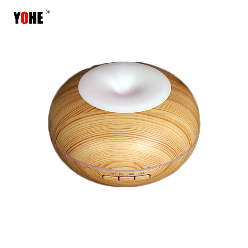 Ultrasonic Humidifier Aromatherapy Electric Mist Aroma Essential Oil Diffuser Air Humidifier Waterless Auto Stop Timing Function<br>