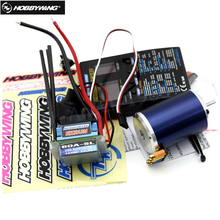 Hobbywing EZRUN COMBO B5 8.5T 4000kv brushless Motor + Ezrun 60A v2 ESC RC 1/10 car+LED Program Card For 1/10 RC car truck buggy