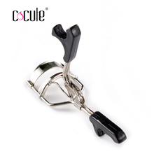 1Pc Delicate Cosmetic Lash Curler Eyelashes Curler Nature Curlers-Silver Heated Eyelash Curler Makeup Tools Color send by ramdon