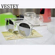 Fashion Sunglasses Women Multicolour Mercury Mirror Glasses Men Male Female Coating Sunglass Gold Round Oculos De Sol Feminino