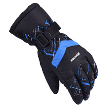 Waterproof Winter Keep Warm Snowboarding Glove Windproof Ski Gloves Riding Motorcycle Gloves Fashional Men Outdoor Skiing Glove(China)
