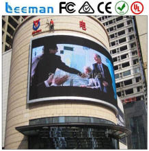RGB P20 High Definition Outdoor Full Color Led display xxx movies led module 5050 full color programmable led moving sign Leeman