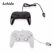 kebidu Classic Gamepad Wired Game Controller Remote Pro Gamepads Shock For Nintendo for Wii High Performance(China)