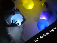 Factory outlets wholesale 400pcs/lot led light Led ballon Latex balloons for Wedding and Party Decoration Mixed Colors
