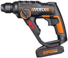 New Electric hammer 20V for Worx 3 in1(Electric screwdriver+Electric hammer&Drill) with 12 pcs Accessories(China)