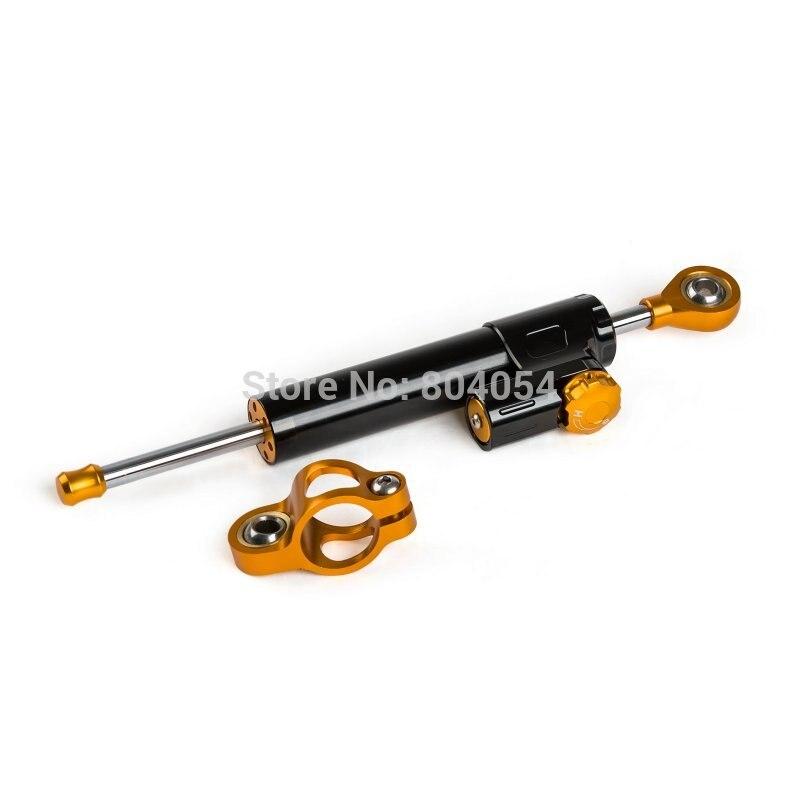 New 6063-T6 Billet Aluminum CNC Motorcycle Steering Damper Steering Stabilizer  For Yamaha R1 R6 R6S FZ1 FZ6 FZ8 FJR XJR Black<br><br>Aliexpress