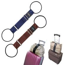 2Pcs Elastic Luggage Strap Belt Baggage Trolley Suitcase Adjustable Security Bag Parts Case Travel Suitcase Travel Outdoor Tool
