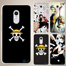 One Piece strong world Hard White Cell Phone Case Cover for Xiaomi Mi Redmi Note 3 3S 4 4A 4C 4S 5 5S Pro