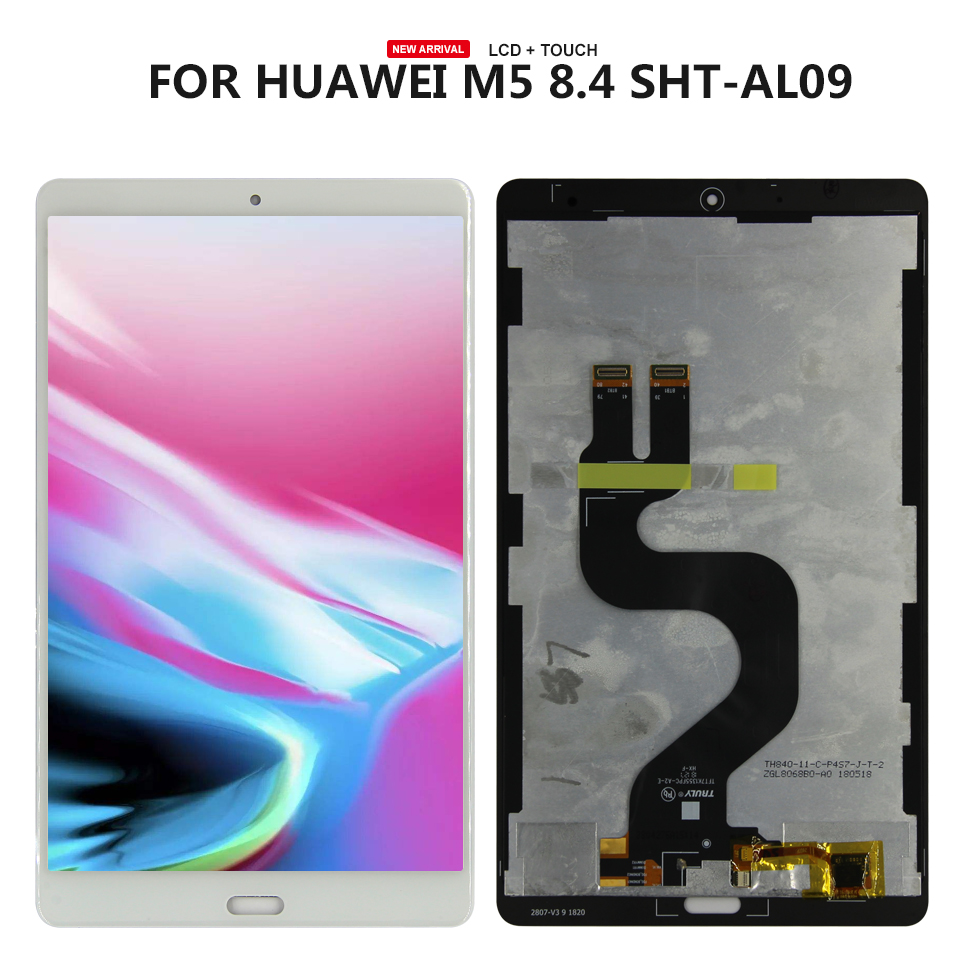 For Huawei MediaPad M5 8.4 SHT-AL09 SHT-W09 Lcd display Touch Screen Digitizer Glass assembly Replacement