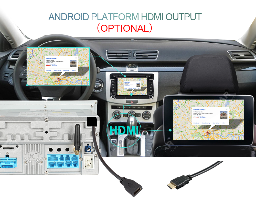 Car Multimedia player Android 7.1.1 GPS 2