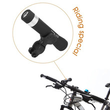 2016 New Hot Sale Mini Outdoor Sport Bicycle Wireless Bluetooth Speaker LED Bike Light Lamp Power Bank For Mounting(China)