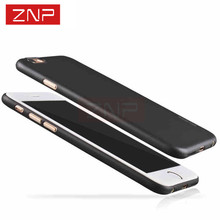 ZNP 0.3mm Ultra-thin Matte Transparent phone Cases For iPhone 7 6 6s cover case for iphone 6 6s plus case hard PC phone bag