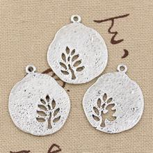 Buy 5pcs Charms leaf tree 28*23mm Antique Making pendant fit,Vintage Tibetan Silver,DIY bracelet necklace for $1.00 in AliExpress store