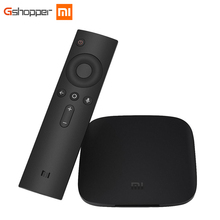 Original Xiaomi MI BOX TV BOX 3 Android 6.0 2G/8G Smart 4K Quad Core HDR Movie Set-top Box Multi-language Netflix YouTube Google(China)