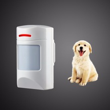 Wireless 433Mhz Pet Immune Motion PIR Detector For  Security Home GSM Alarm System Security anti-pet immunity