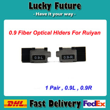 Ruiyan RY-F600P Optical Fusion Splicing Machine Fiber Holders 1 Pair Of Hot-Melt 0.9 Fiber Holder(China)