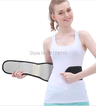 Black Color 1pc Tourmaline Back Support Belt Free Shipping Magnetic Waist Support for Back Pain
