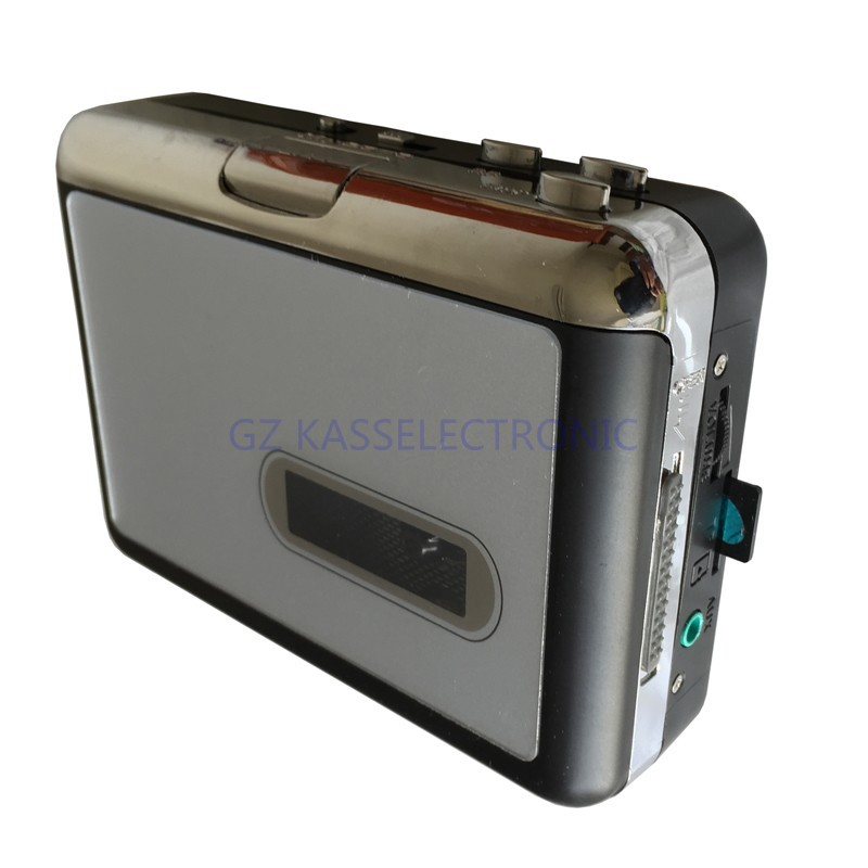 2017 new audio cassette recorder player convert cassette tape to mp3 into TF Card directly, no pc required, Free shipping<br>