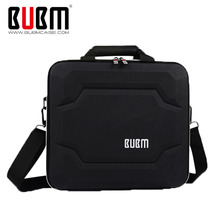 BUBM  Hard Travel Organize Case Protection Carry Bag Cover For PS4 PRO Games Console Accessories Bag With Shoulder - Black