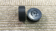2 pieces Caster Wheels for iRobot Scooba 380 380t 320 321 345 6050 385 375 375T Mint Plus 4200 4205 5200 5200CWheels(China)