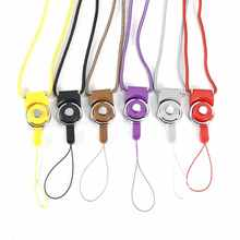 Smart Phones Straps Neck Lanyard Finger Strap 2 In 1 Multi-functional Detachable Lanyard Line Cord