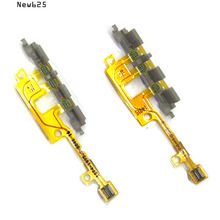 New625 Original for Sony Xperia Z1 Compact mini M51W D5503 power on/off volume switch button flex cablePhone Parts Replacement