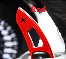 Fit for Ford Mustang 2015-2016 Gear paddles paddle shifters Baking varnish Color options Red blue(China)